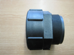 100 mm IBC Adaptor to 3 inch Male BSP